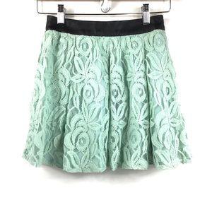 NEW   BCBG   Lace Skirt